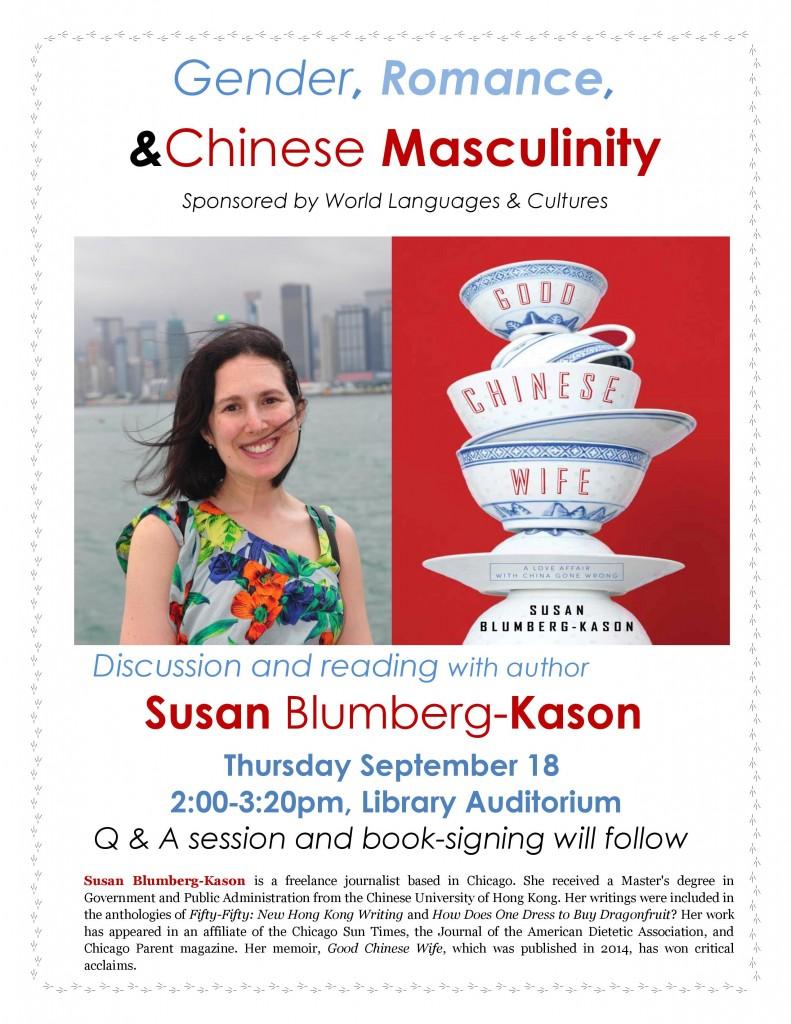 Susan Blumberg-Kason flyer