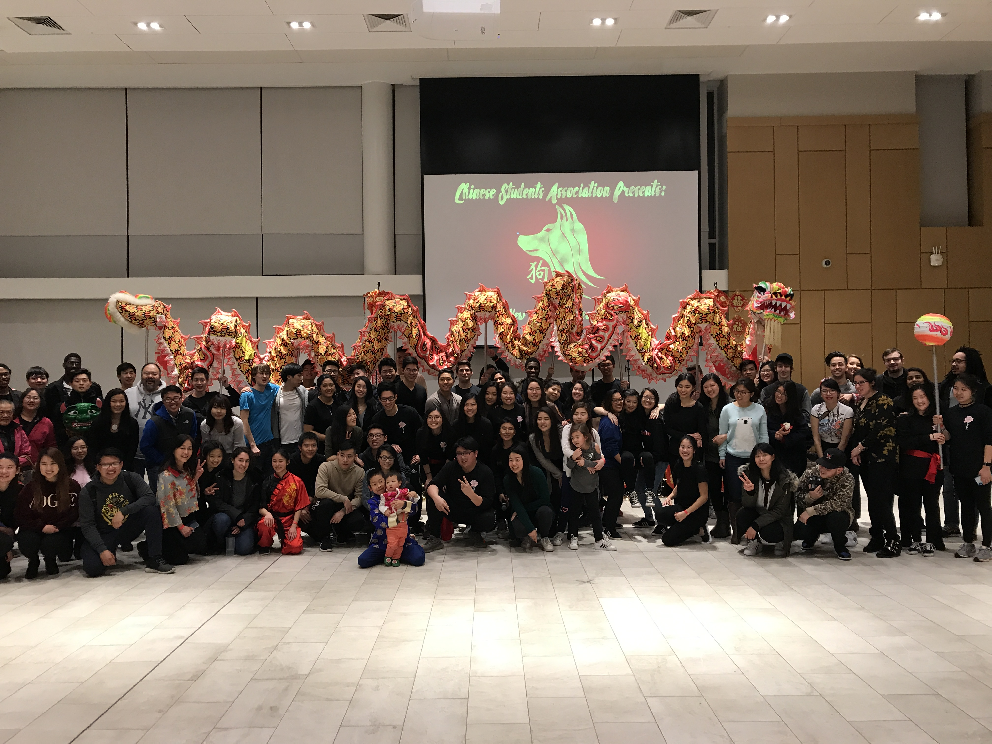 TCNJ Chinese Students Association New Year Celebration, Feb. 24, 2018: