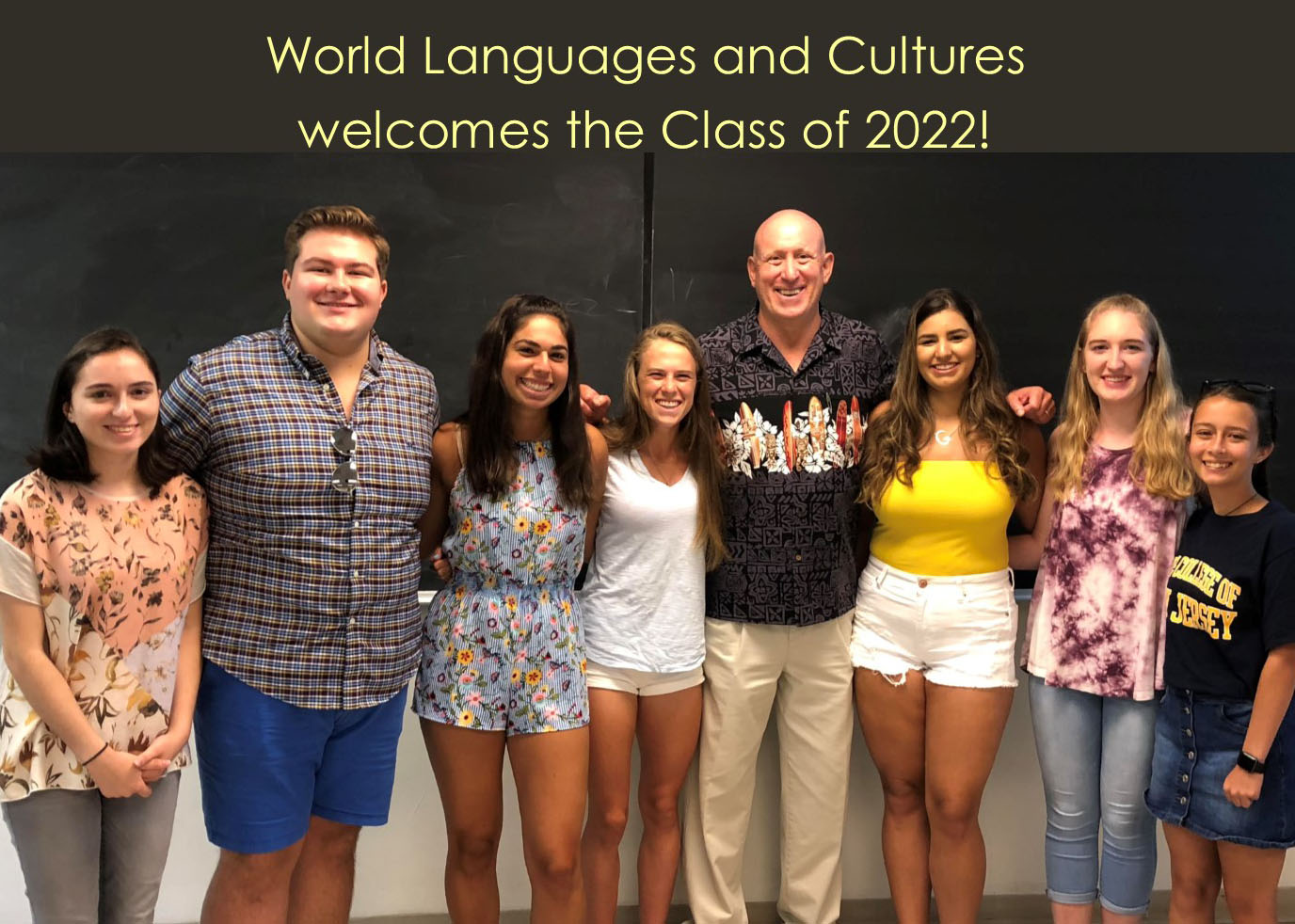 Tcnj Academic Calendar 2022.Welcome To The Class Of 2022 Department Of World Languages And Culture